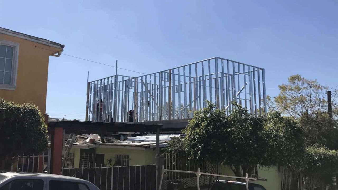 Ek Edificacion Ampliación Con Estructura Metalica Terrazas